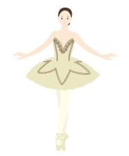 バレエ無料イラストシルエット素材バレエ発表会のプログラム専門店